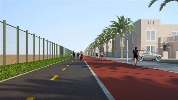 Nakheel pedals ahead with Dh8.6m cycle track at new Nad Al Sheba community